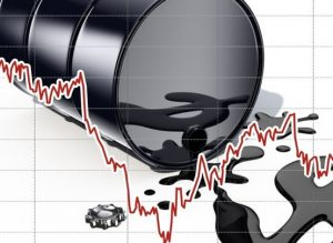 Снижение стоимости нефти влияет на падение рубля