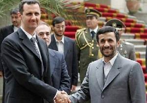 Союзники - Иран и Сирия