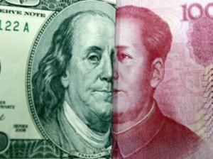 Падение китайского юаня