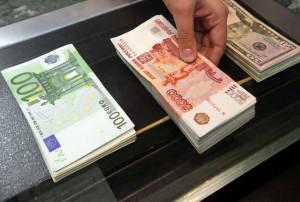 Рубль к доллару и евро
