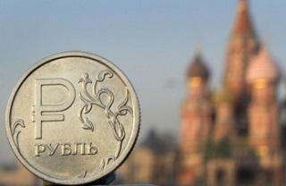 Биржевой курс рубля повышается