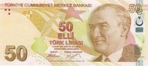 Турецкая лира в крутом пике