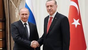 Встреча В. Путина и Р. Эрдогана
