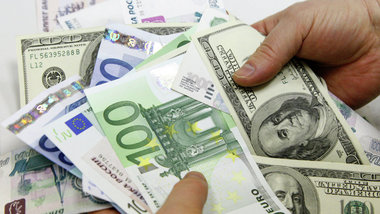 Доллар и евро в конце торговой недели