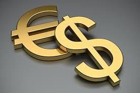 Евро/доллар в середине канала