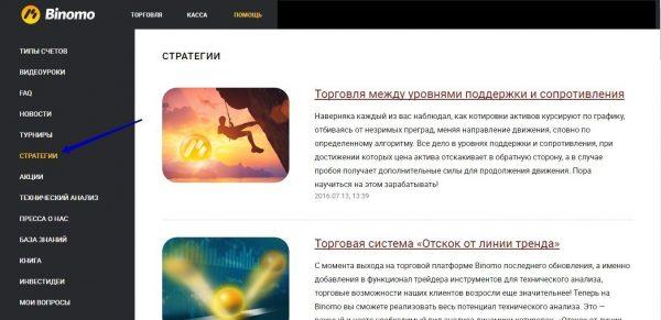 Изучение рынка и стратегий торговли БО