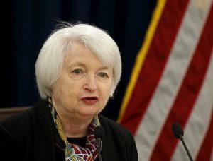 Ждем выступления главы ФРС США