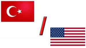 Валютная пара TRY/USD и TRY/EUR