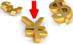 Падение курса йены по всем валютным парам